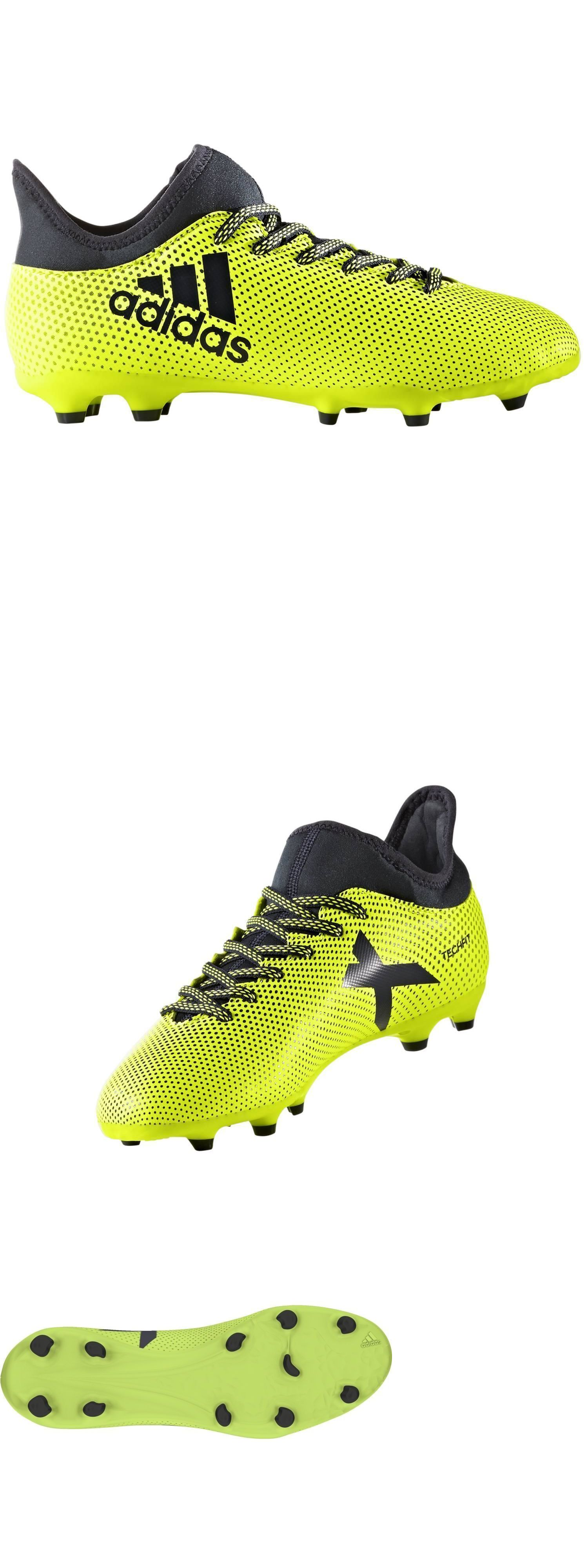 ... release date a676f 034f3 Youth 159177 Adidas Jr X 17.3 Fg Yellow Black  Soccer Cleats S82369 ... 46cae07633b6