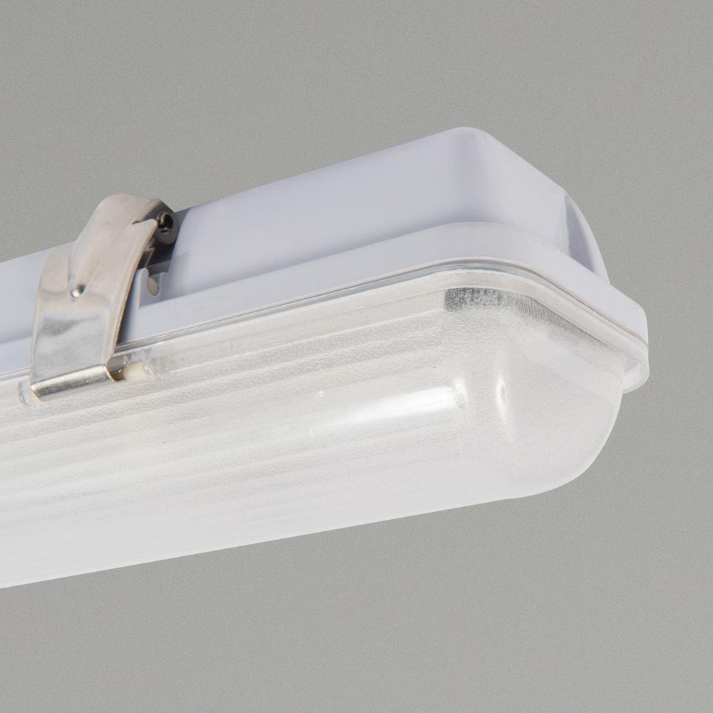 6ft Ip65 Tri Proof Batten Light Navara 1800mm 35w Single Led Batten Lights
