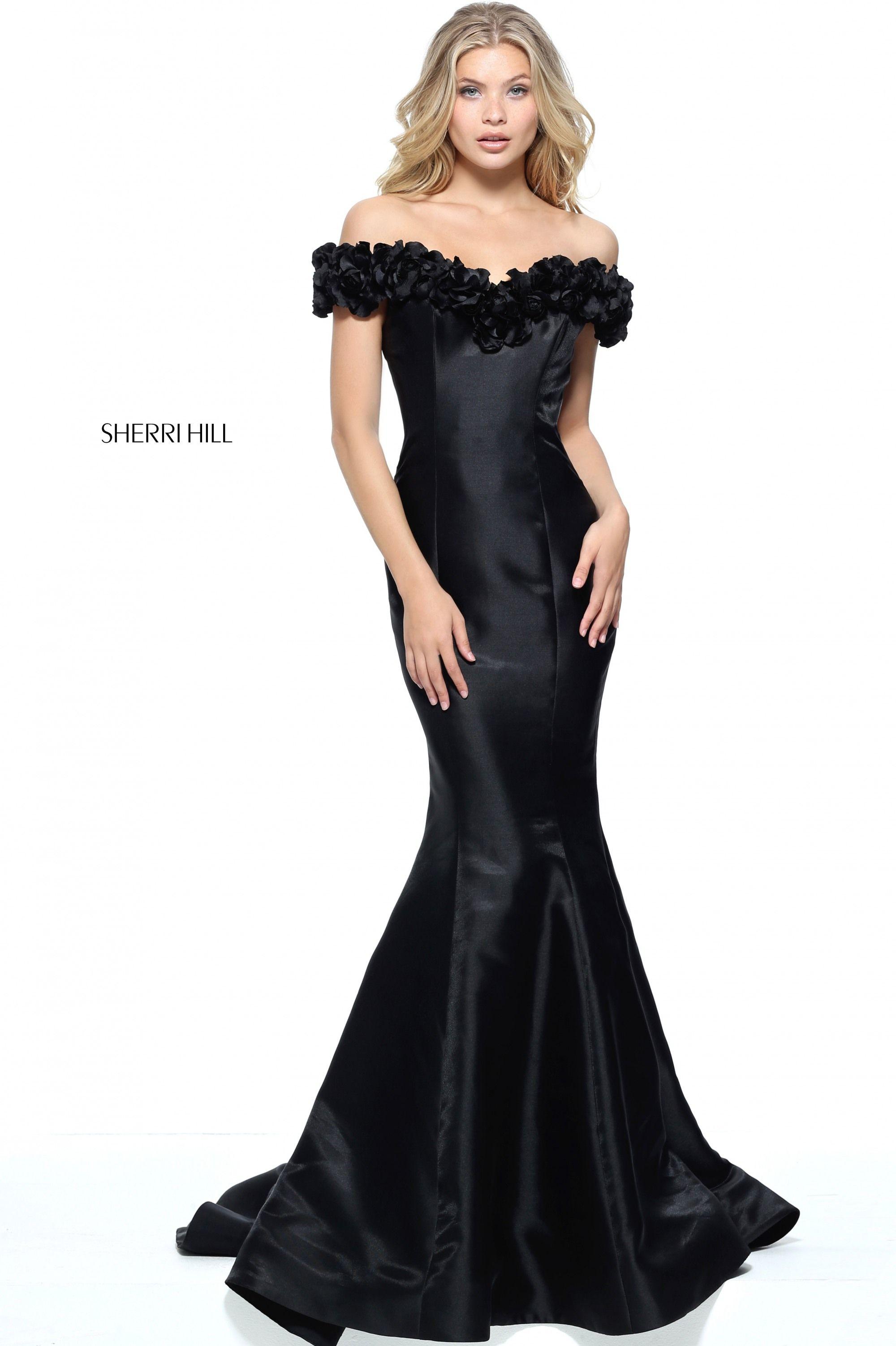 Sherri Hill 51103- International Prom Association | Sherri Hill Prom ...