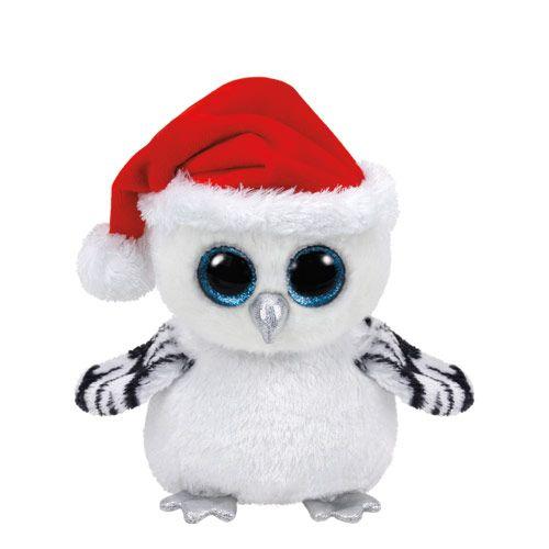 Petite peluche ty beanie boo la chouette des neiges claire 39 s peluches pinterest doudou - Jeux de toutou a gros yeux ...