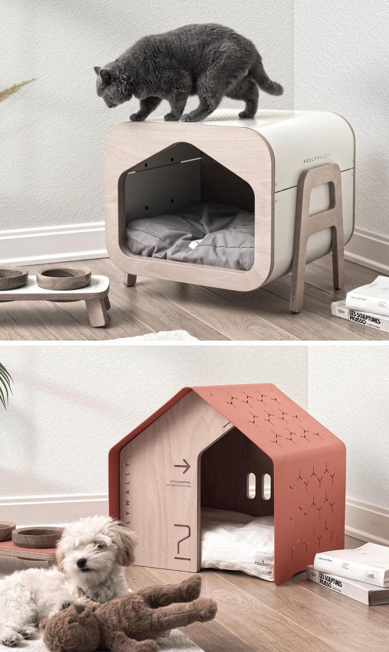 Weelywally Has Created A Line Of Modern Pet Furniture Including Houses And A Couch Modern Pet Furniture Pet Furniture Dog Furniture [ 1340 x 800 Pixel ]