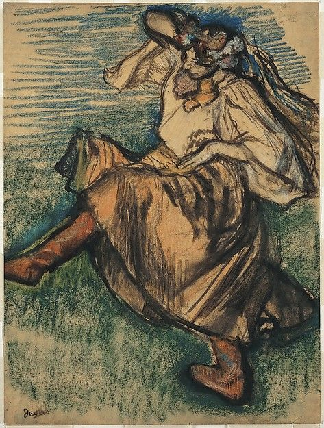 Edgar Degas (French, 1834–1917). Russian Dancer, 1899. The Metropolitan Museum of Art, New York. H. O. Havemeyer Collection, Bequest of Mrs. H. O. Havemeyer, 1929 (29.100.556) #halloween #costume
