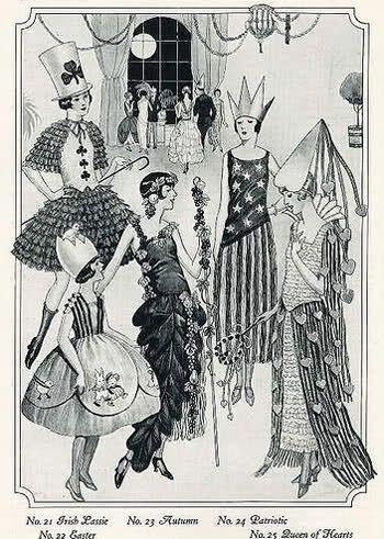 Vintage Clothing Blog , 1920s Halloween Costumes