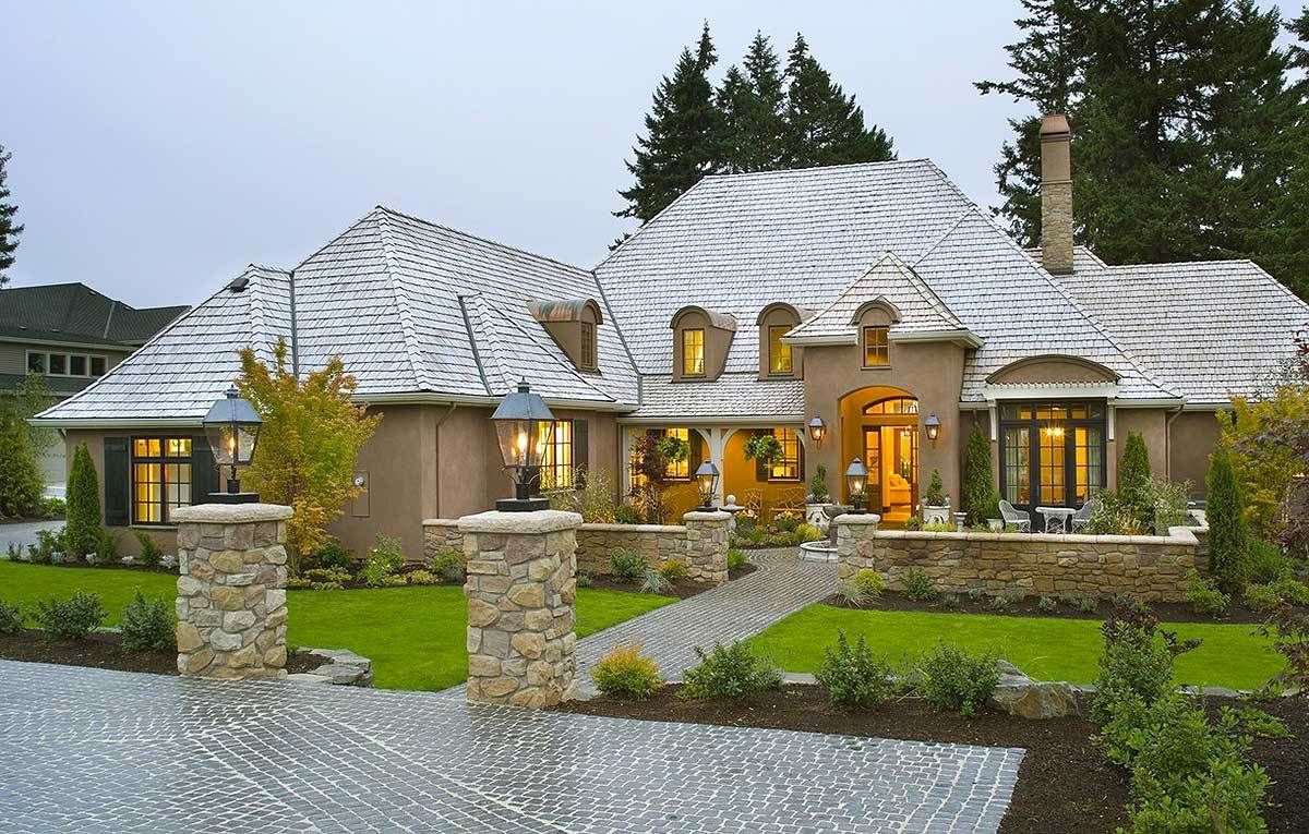 Plan 69460am Energy Efficient French Country Design French Country House French House Plans French Country Exterior