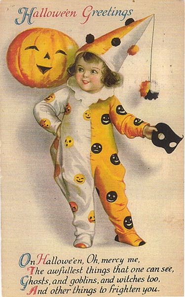 Free Vintage Halloween Postcards Images (With Images) Vintage