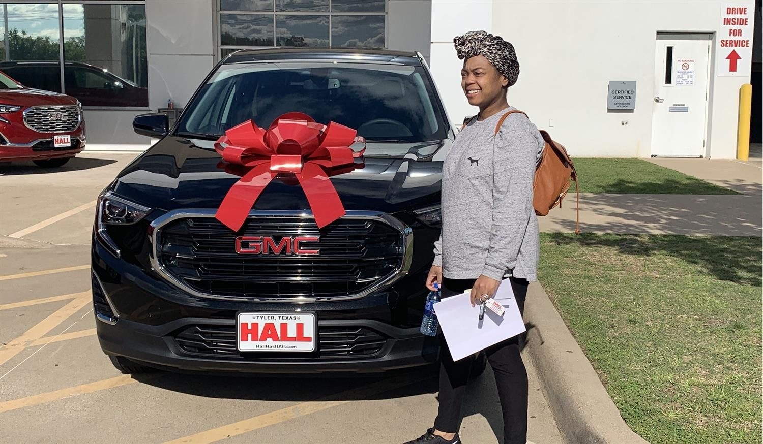 Awesome Congratulations To Latarra On Your New 2019 Gmc Terrain