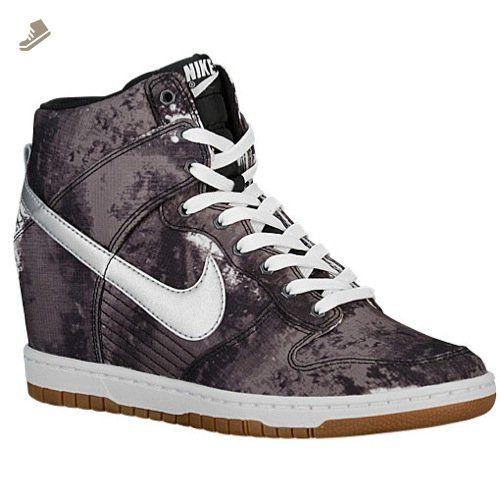 info for 6ec03 3101c Nike Dunk Sky Hi Print Women Black Metallic Silver Gum 543258-004 (11.5) -  Nike sneakers for women ( Amazon Partner-Link)