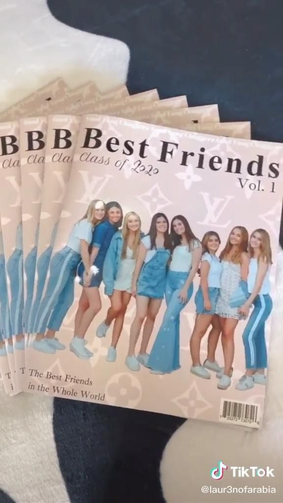 Lauren Laur3nofarabia On Tiktok I Made A Magazine Of My Friends I Video Teenager Crafts Diy Gifts Diy Birthday Gifts