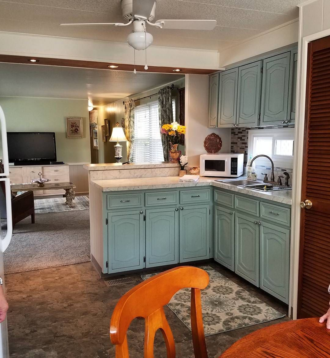 How To Repair And Paint Mobile Home Cabinets The Right Way ...