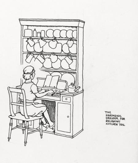 William Heath Robinson : The Harmonic Dresser For