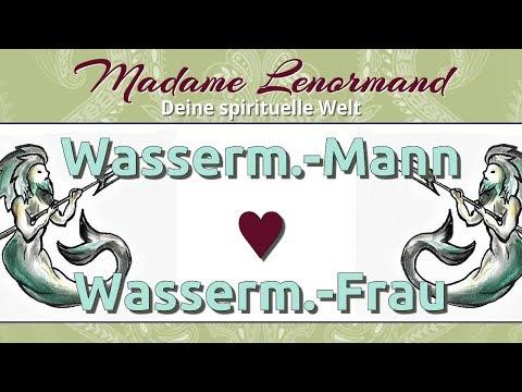 Stier Frau Und Wassermann Mann