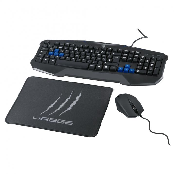 Hama uRage Starter геймърски комплект клавиатура, мишка и