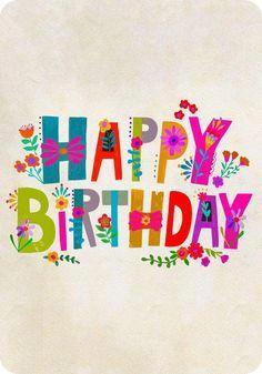 Happy Birthday E Gift Card In 2021 Happy Birthday Card Design Egift Card Happy Birthday Lettering