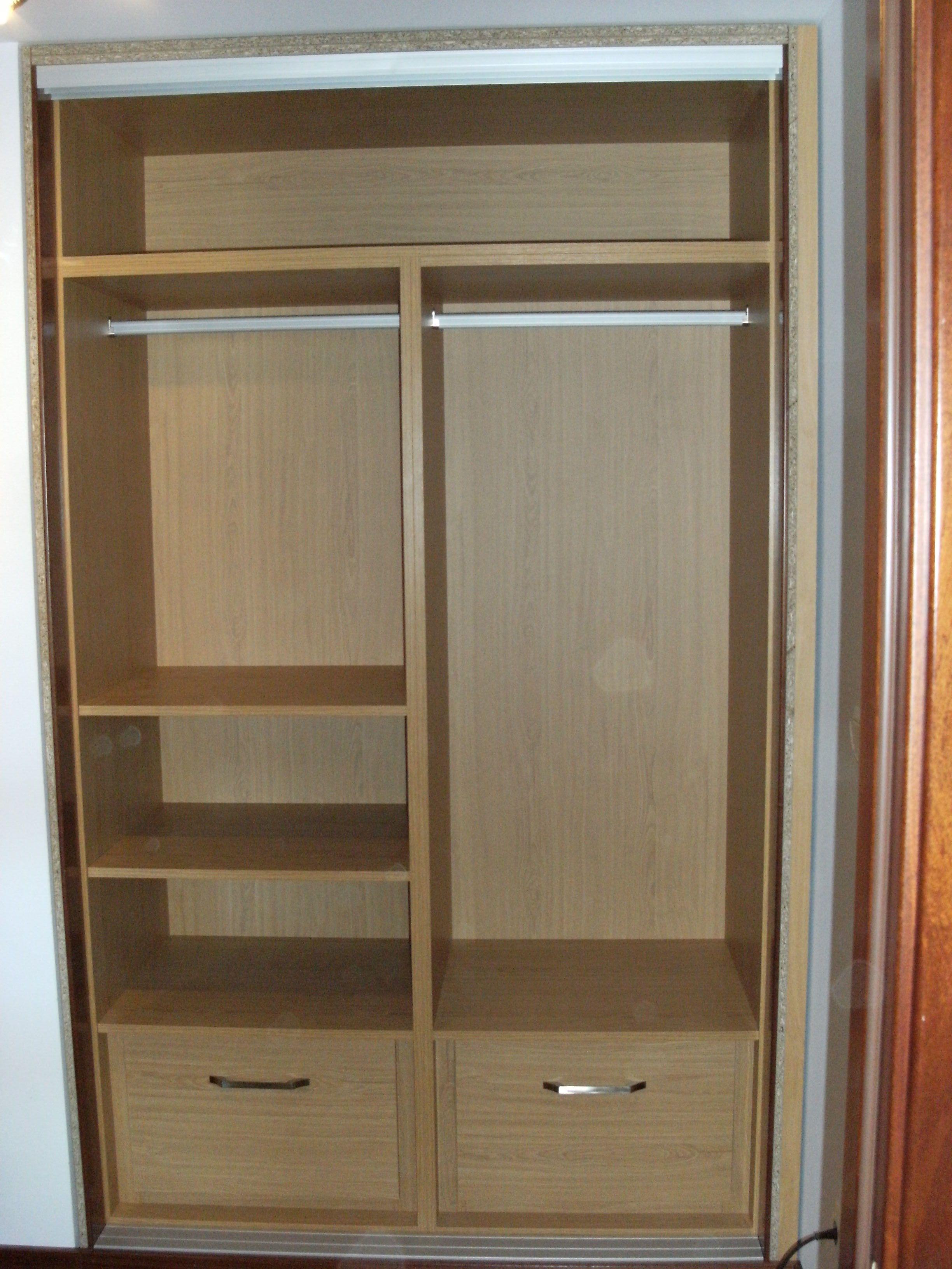 Fondo armario madera