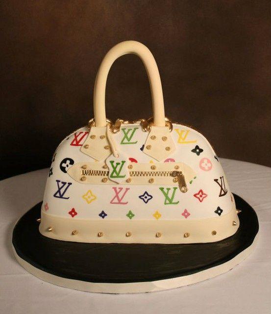 Louis Vuitton Purse Cake Louis Vuitton Purse Birthday Cake Shoe