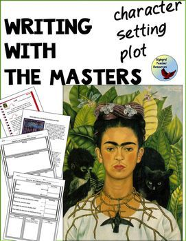 Students use iconic art to master story elements of character, setting, and plot.