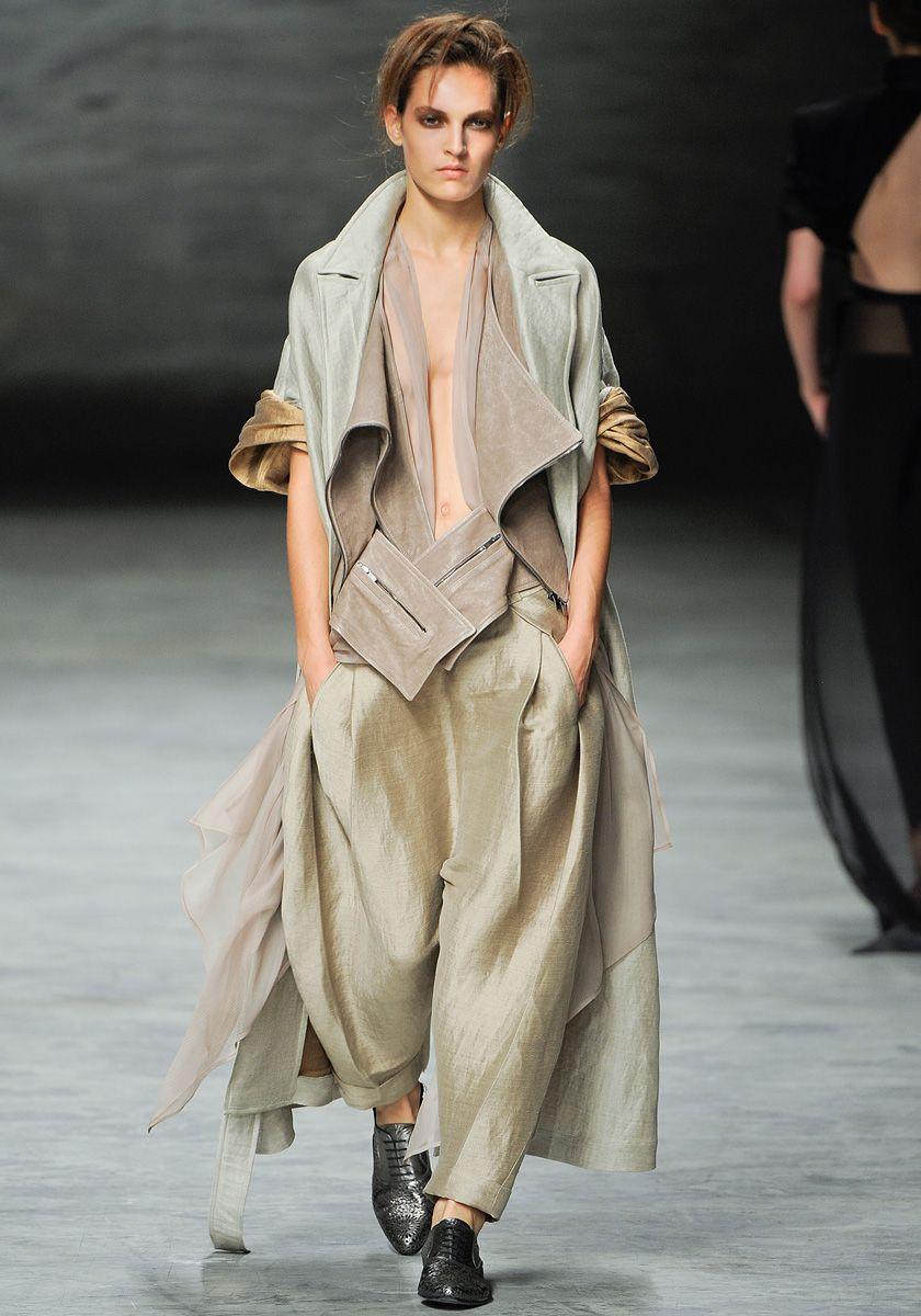 Haider Ackermann Spring 2012 RTW - Runway Photos - Fashion Week - Runway, Fashion Shows and Collections - Vogue