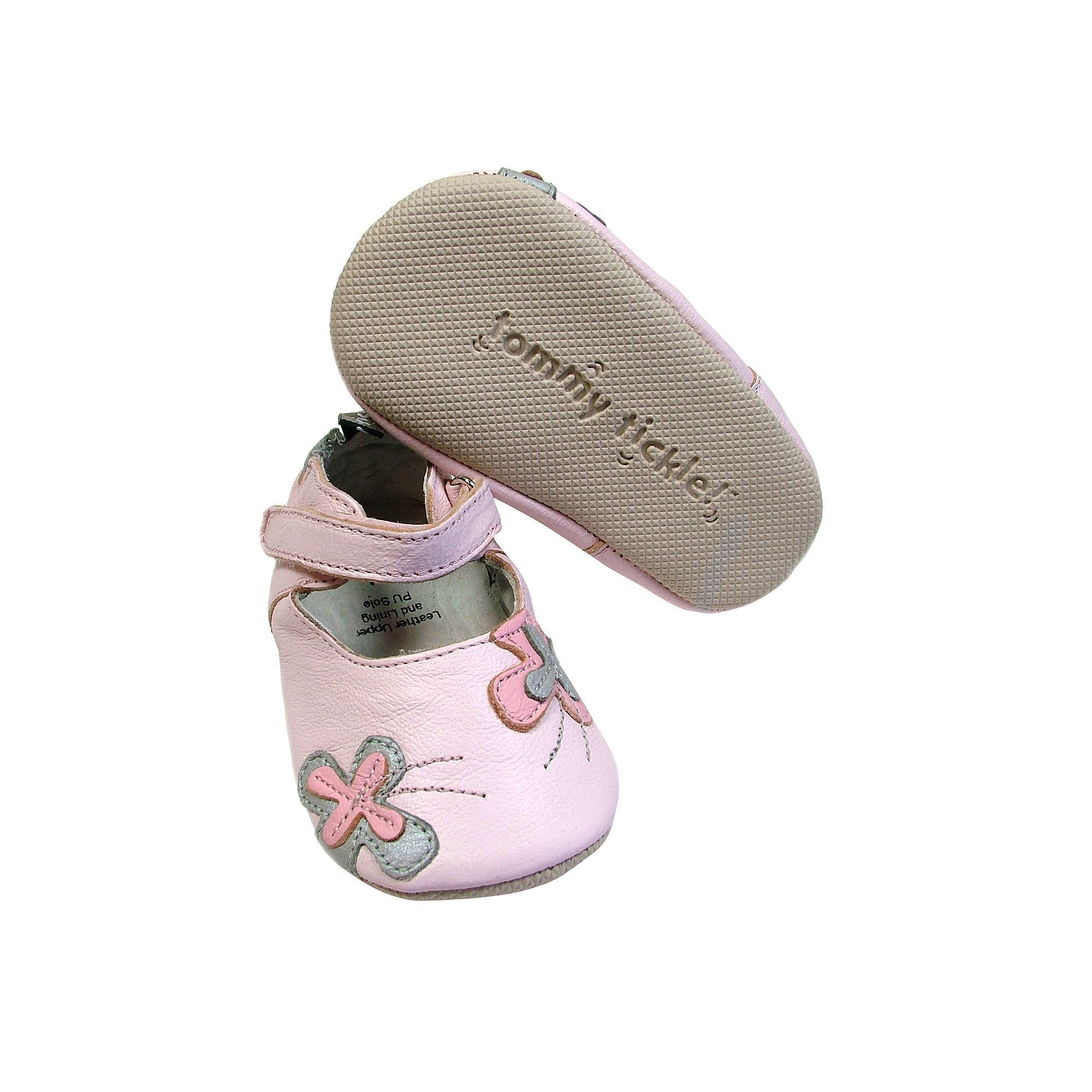 Baby Tommy Tickle Butterfly Mary Jane Crib Shoes Infant Girl s