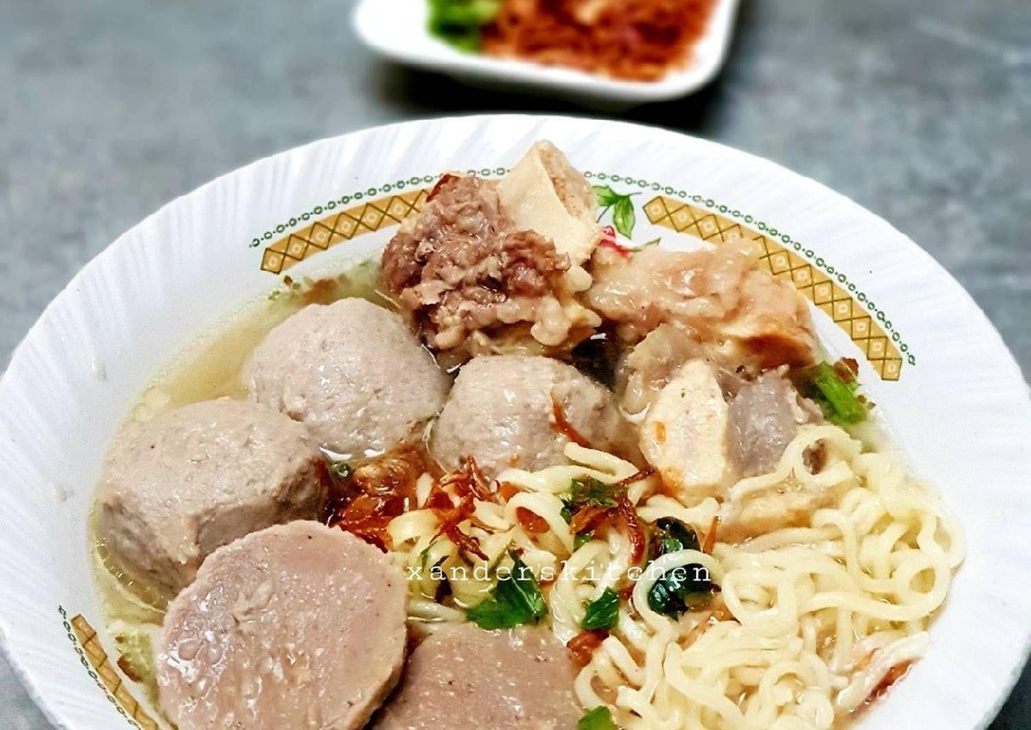 Resep Bakso Sapi Gariing Enakkk Oleh Xander S Kitchen Resep Resep Daging Sapi Resep Makanan Resep Bakso
