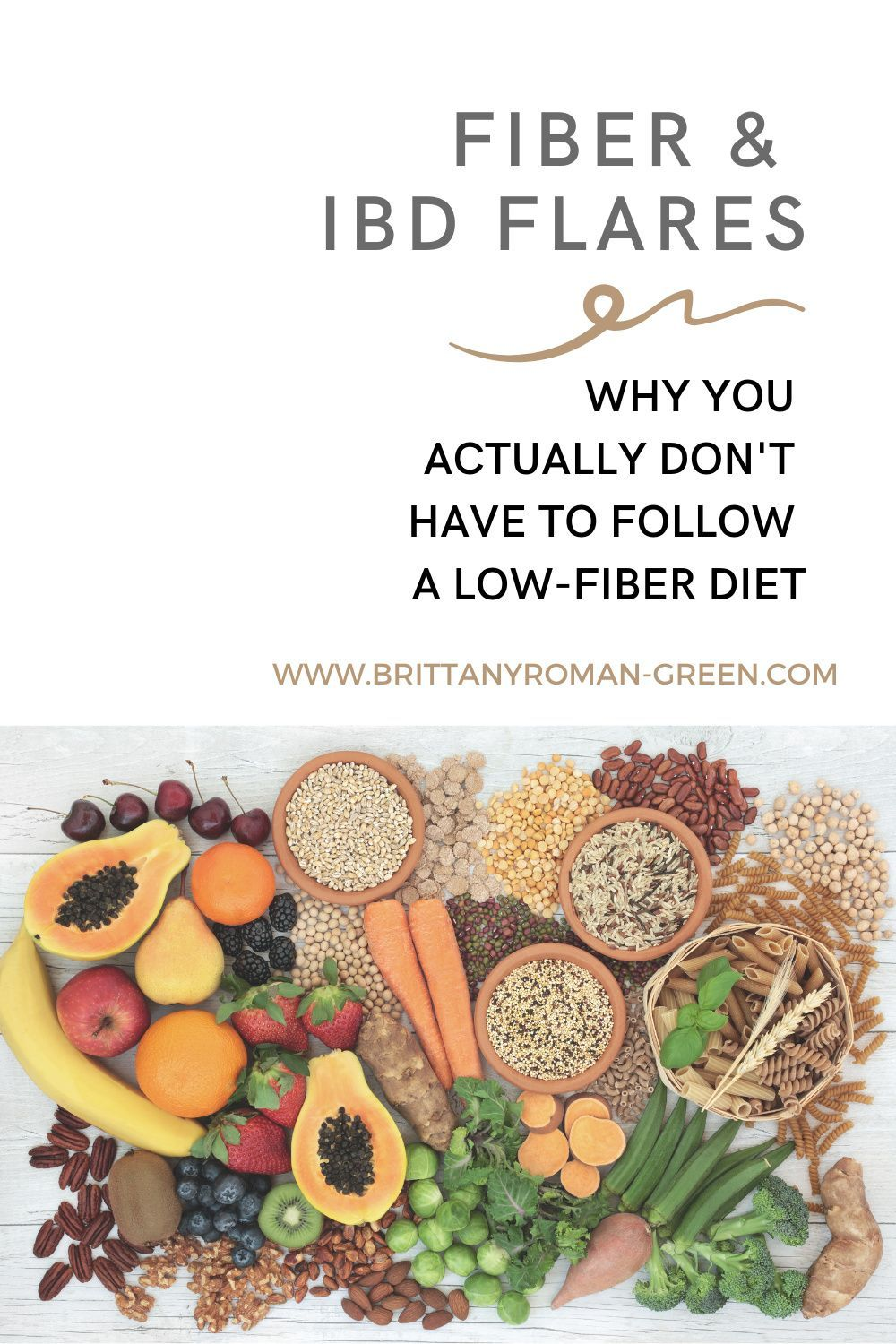 Fiber Ibd Flares Why You Actually Don T Have To Follow A Low Fiber Diet Ulcerative Colitis Diet Crohns Disease Diet Low Fiber Diet