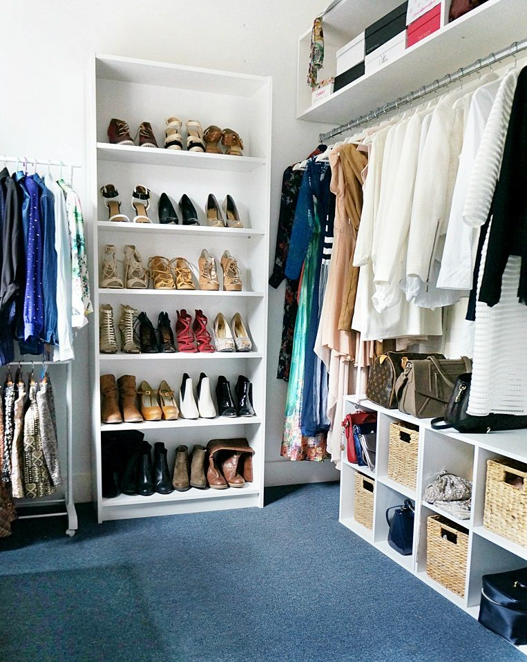 Walk in closet inspo DIY walkin closet inspo wardrobe ...