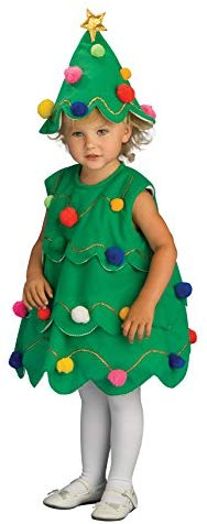 Amazon Com Rubie S Costume Lil Xmas Tree Child Costume Toddler Toys Games For The Grandkids Christmas Tree Halloween Costume Christmas Tree Dress Tree Halloween Costume