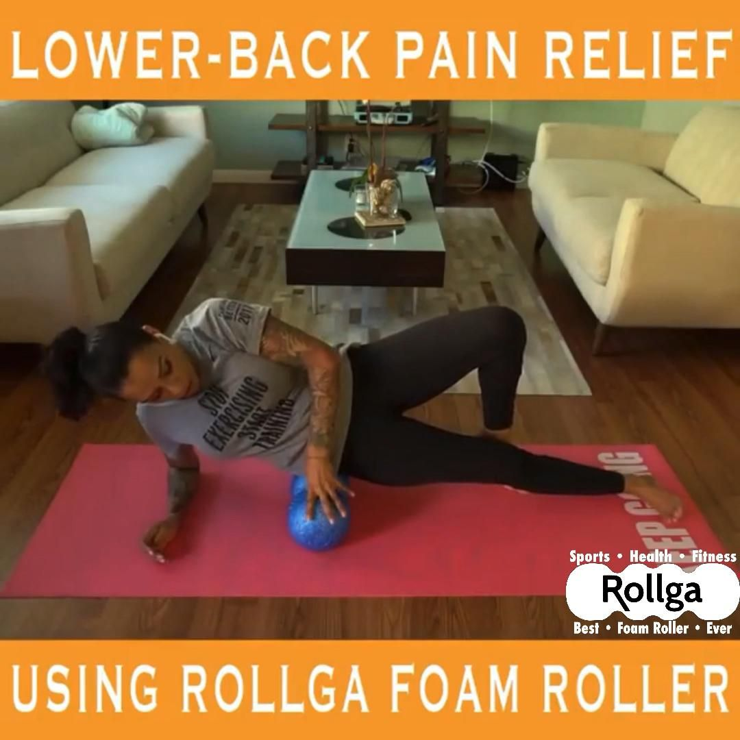 Do you have lower back pain? Rollga foam rollers can help with that!!!  #rollga #rollgaroller #foamroller #foamrolling #shinsplints #sportsinjury #backpain #yoga #selfcare #selfcaresunday #selfmassage #massage #bodycare #recovery #restday #takecare #quarantine #socialdistancing #release #digdeep #ahhspot