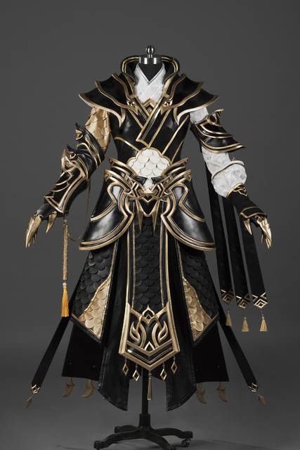 Photo of US $ 1050.0 | Xue Er Junior Boy Jian Wang III Boy Guy Cang Yun Group Anime Cosplay Costume Armor Hanfu Male Full Set DHL Free Shipping In Game Costumes from Novelties and Special Use at AliExpress