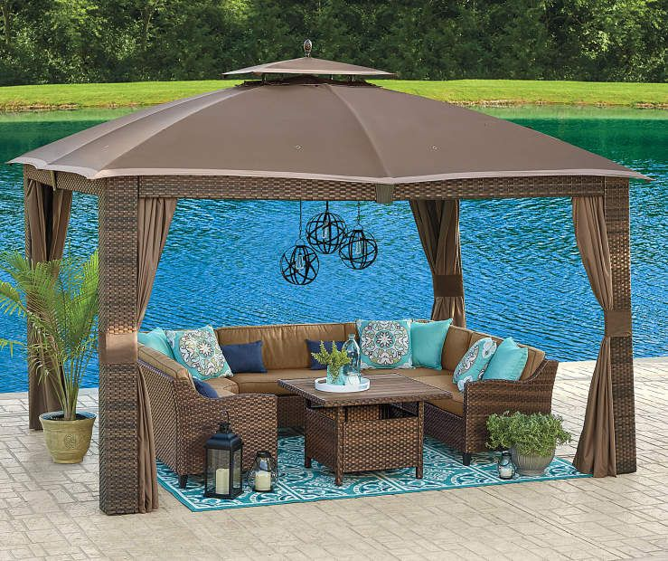 I Found A Sonoma Gazebo 10 X 12 At Big Lots For Less Find