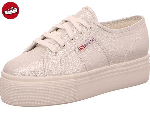 Superga Damen 2790 Lamew Sneaker, Grau (Grey), 37