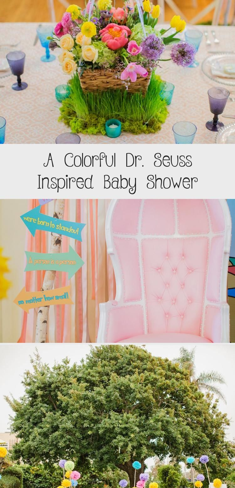 Photo of A Colorful Dr. Seuss Inspired Baby Shower – Mother-Baby
