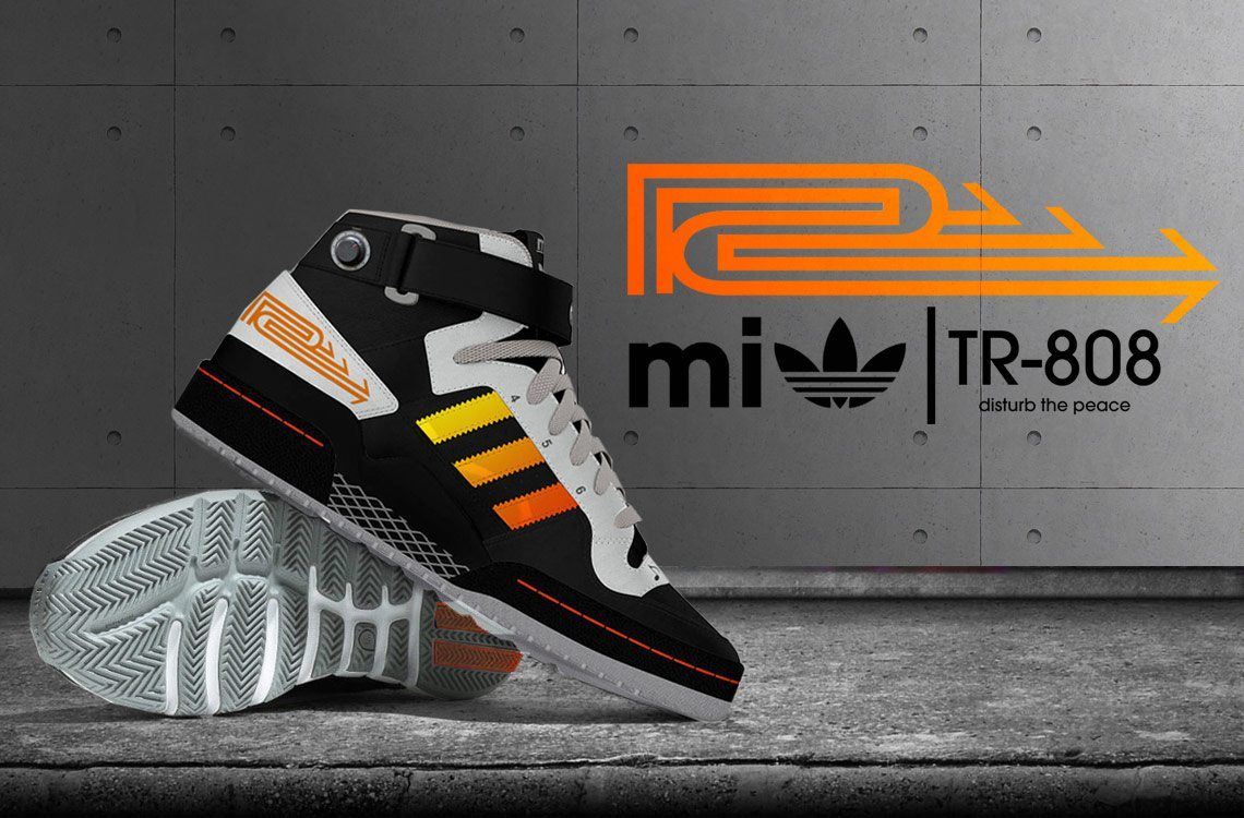 Beats for your feet — the Adidas Roland TR 808 concept