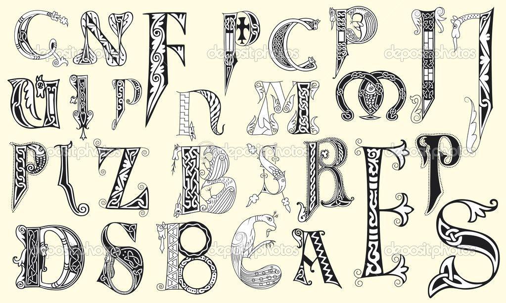 middeleeuwen hoofdletter - Google zoeken | kids painting