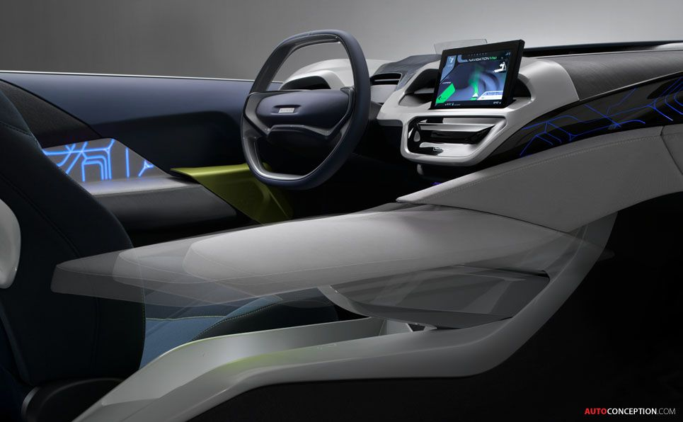 Car Interior Design: Faurecia Performance 2.0 Concept