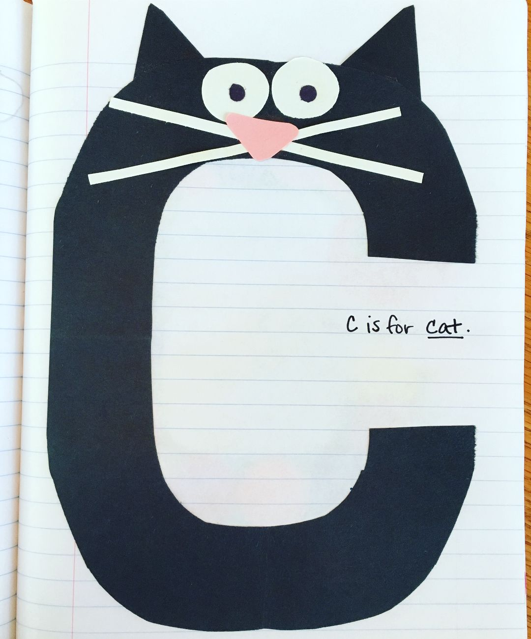 Pin On Letter Crafts