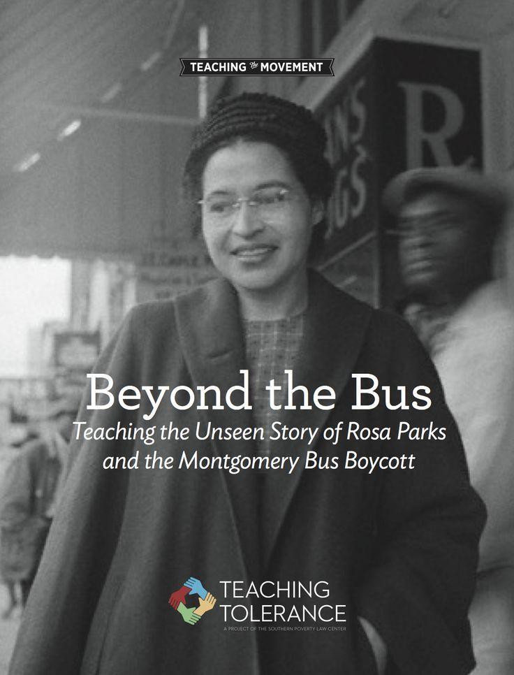 Beyond The Bus Montgomery Bus Boycott Bus Boycott Teaching