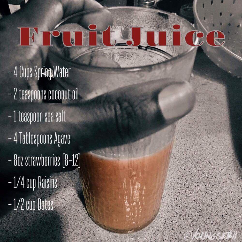 Dr sebi juice