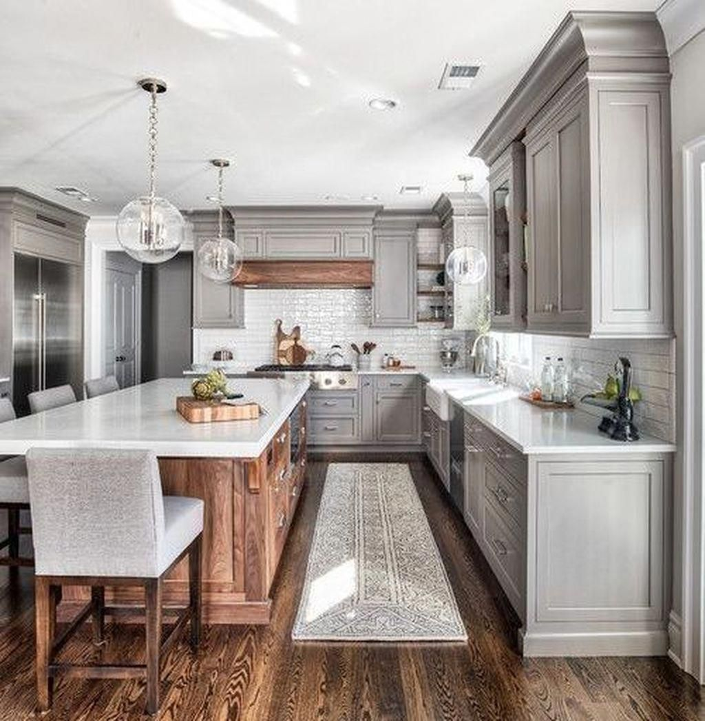 Adorable 38 Relaxing Kitchen Designs Ideas. #kitchencolors ...