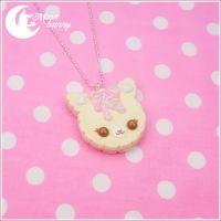 cookie cat necklace