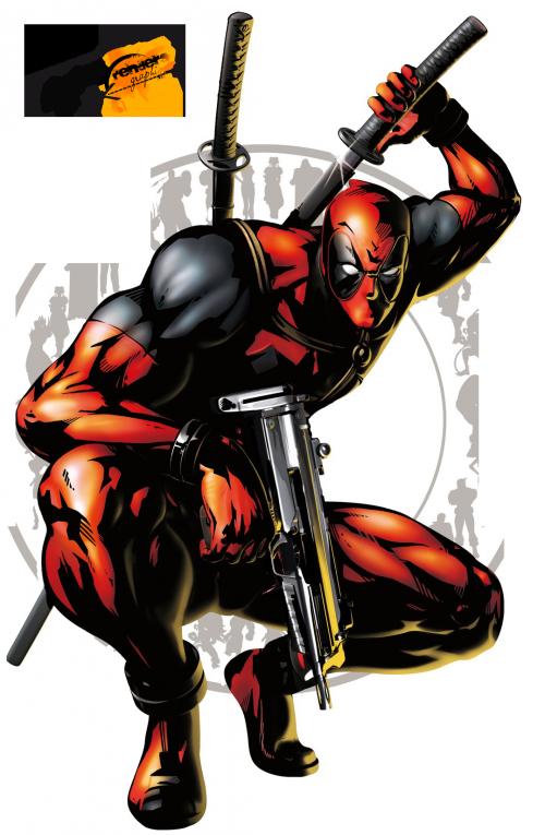 Renders Png Personajes De Comics No Descarga Deadpool Comic Marvel Vs Capcom Marvel Deadpool