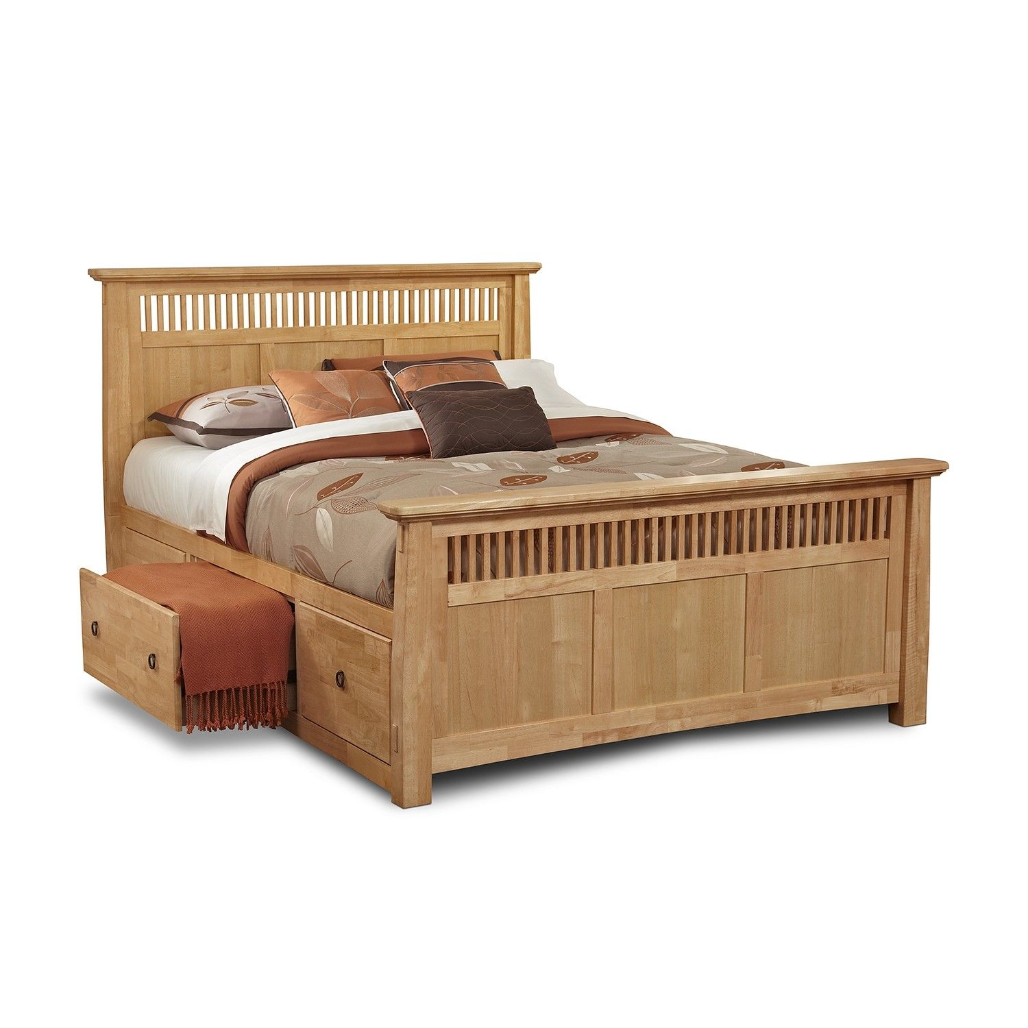 Not a buying site queen size bed frame with storage for Wooden divan bed with drawers