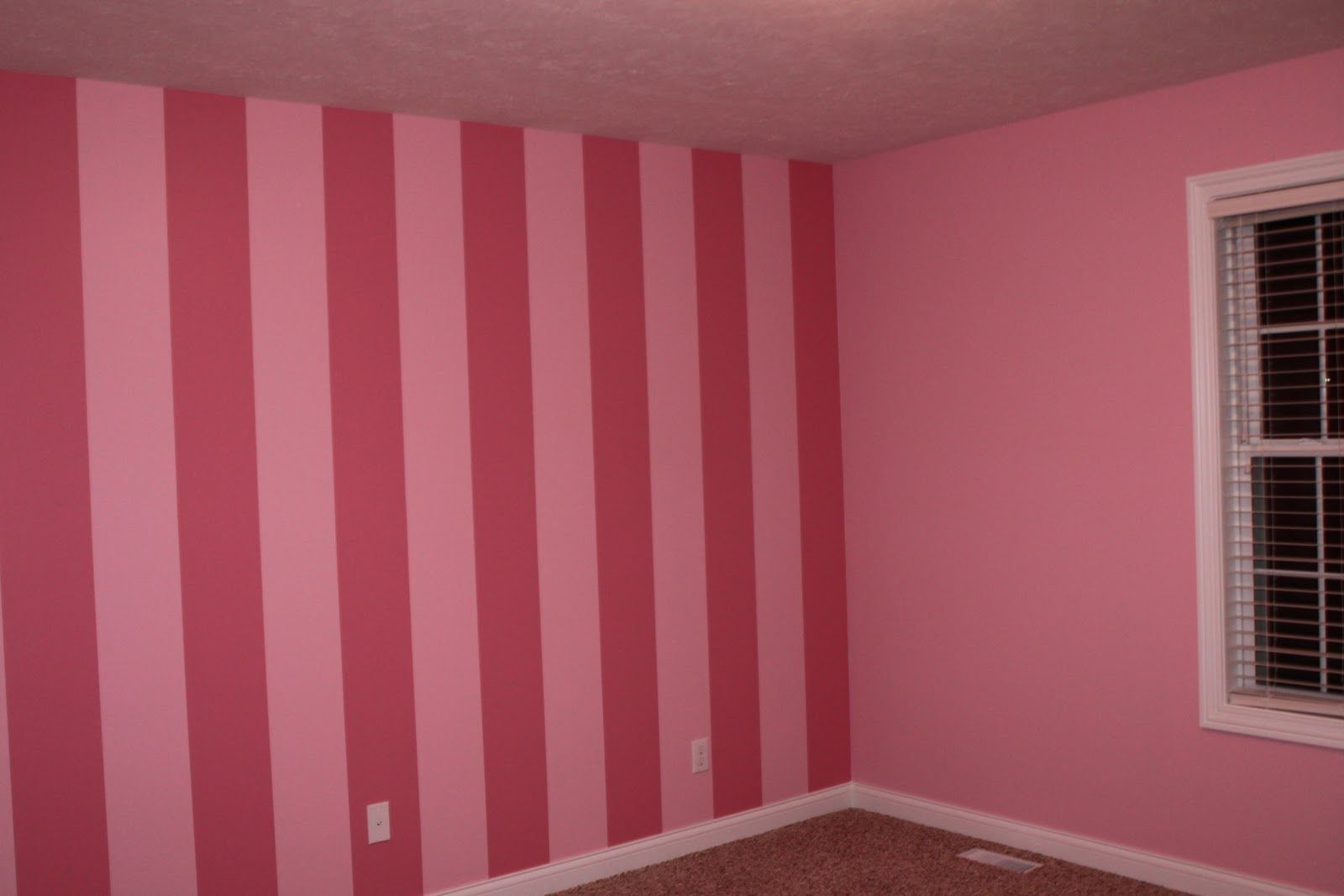 Victoria Secrets Style Wallpaper For Bedroom... I Painted