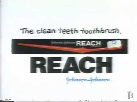 Reach Toothbrush Commercial 1990 | Commercial, Brushing ...