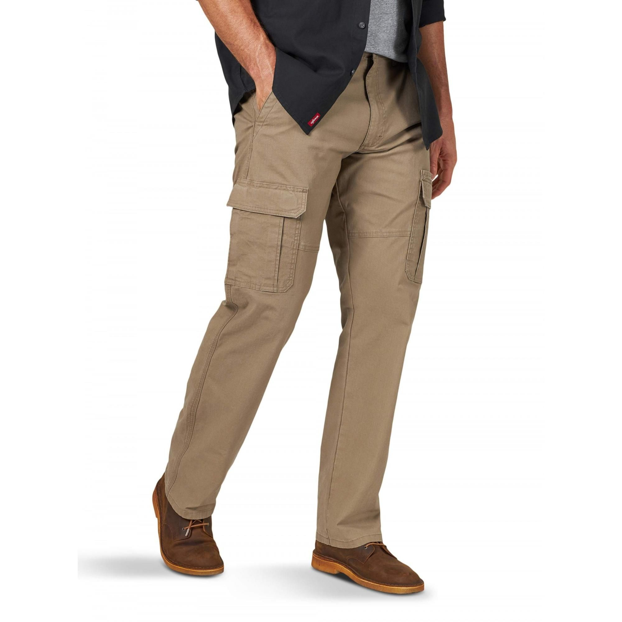 Wrangler Wrangler Men S And Big Men S Relaxed Fit Cargo Pant With Stretch Walmart Com Cargo Pant Relaxed Fit Big Men [ 2000 x 2000 Pixel ]