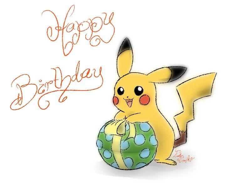 Pikachu Birthday Happy Birthday Quotes 15th Birthday Pikachu