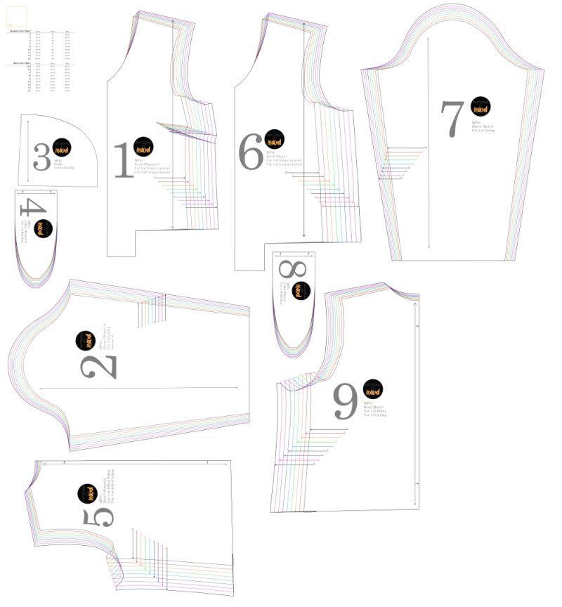 Mood DIY: Free Reversible Bomber Jacket Sewing Pattern   Stitchy