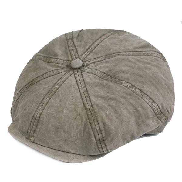 1fe9030305b Only US 14.47 shop mens cotton solid sunscreen newsboy octagonal hat at  Banggood.com. Buy fashion hats   caps online. - Banggood Mobile