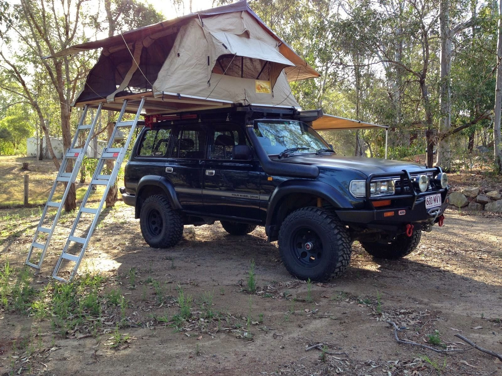 1992 Toyota Landcruiser GXL 80 Series with Camper | 4x4 ...