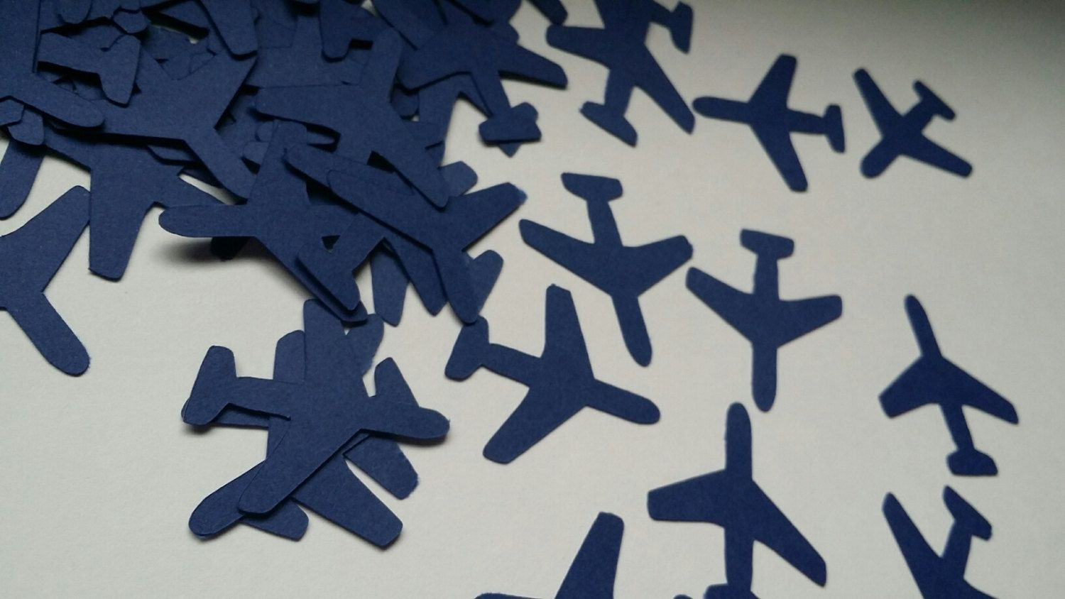 Free Shipping 100 Pieces Airplane Confetti Going Away Party Boy