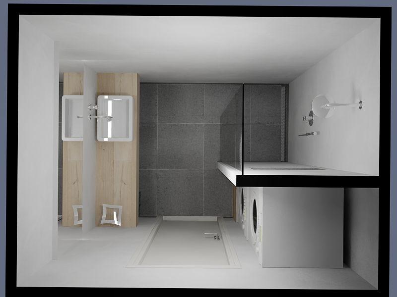 Een kleine badkamer wordt met maatwerk oplossingen bijzonder ...
